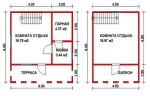 63 кв. м. каркасная баня