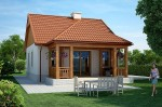 Дом с верандой