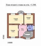 122 кв м Дом из ЛСТК