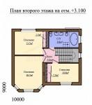 123 кв м Дом из ЛСТК