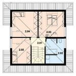 126 кв м Дом из ЛСТК