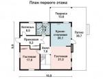 183 кв. м. Каркасный дом из ЛСТК