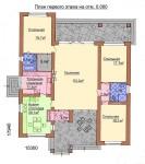 161 кв. м. Каркасный дом из ЛСТК