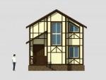 70 кв м Двухэтажный дом