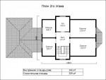 Каркасный дом из ЛСТК 209 кв. м.
