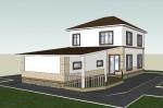 Каркасный дом из ЛСТК 219 кв. м.