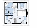 Каркасный дом из ЛСТК 248 кв. м.