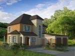 Каркасный дом из ЛСТК 250 кв. м
