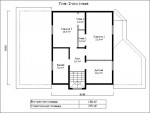 Каркасный дом из ЛСТК 255 кв. м.