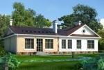 Каркасный дом из ЛСТК 263 кв. м.