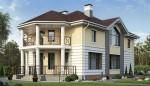 Каркасный дом из ЛСТК 276 кв. м.