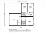 Каркасный дом из ЛСТК 285 кв. м.