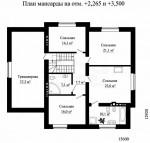 Каркасный дом из ЛСТК 291 кв. м.