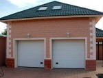 Каркасный гараж из ЛСТК (КГ-10)