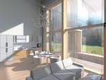 170 кв. м. Каркасный дом в стиле модерн