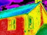 Замеры тепловизором кирпичных домов