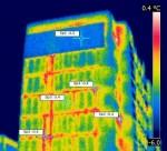 Замеры тепловизором панельных домов
